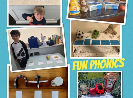 Phonics Fun for Junior Infants
