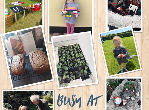 Junior Infants Busy at Home