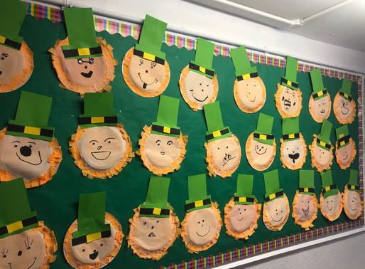 St Patrick's Day Art