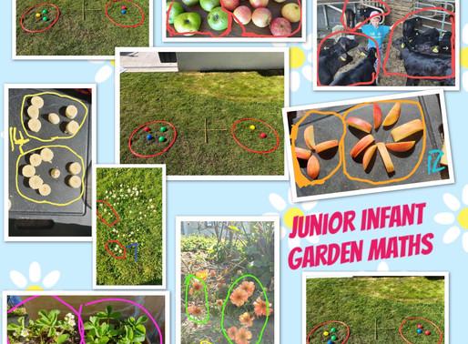 Junior Infant Garden Maths