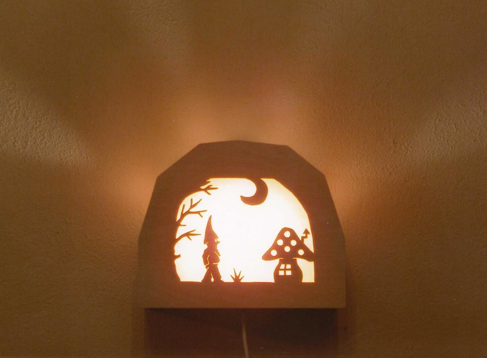 Kabouterlampje