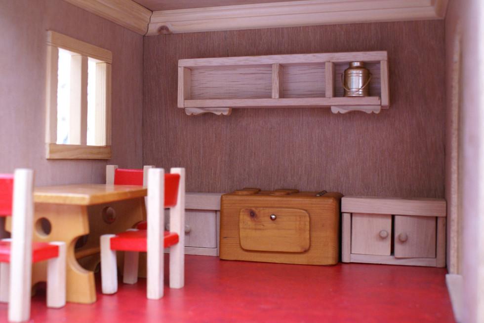 Poppenhuis keuken