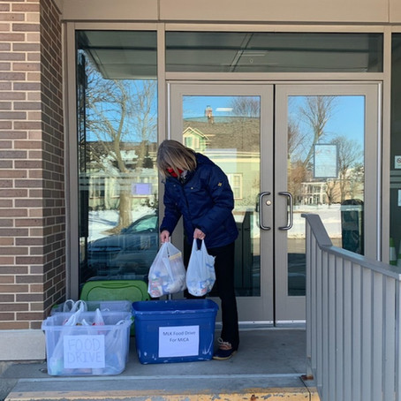 Food Drive Success: Thank You, Grinnell!