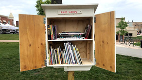 GEP VISTA Project Builds Little Libraries for Grinnell Neighborhoods