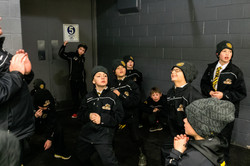 Pre-game warm up