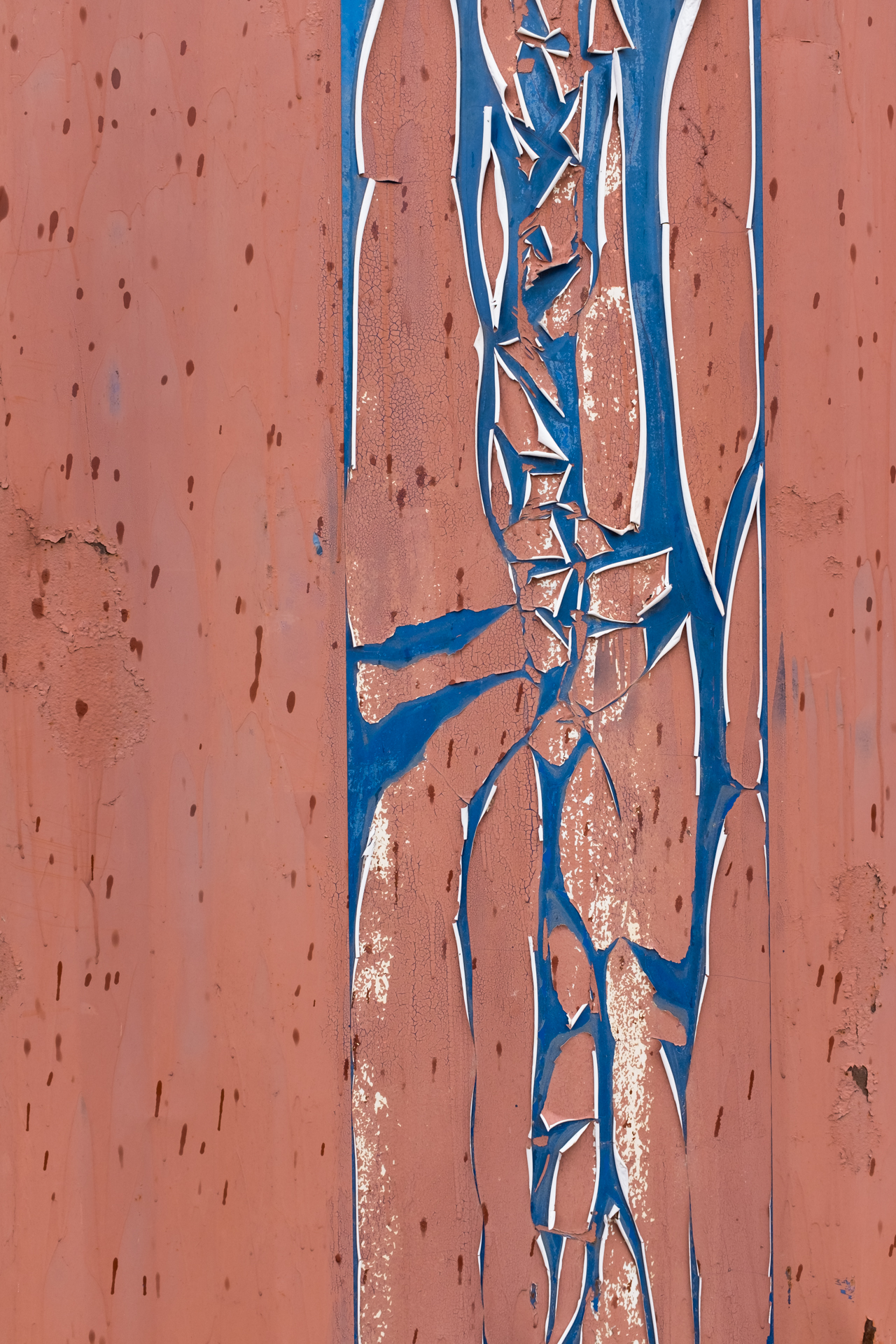 Abstract Ashipping container