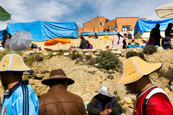 Hats at El alto Market