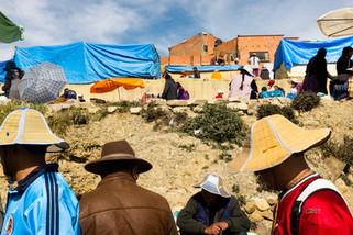 Hats at El alto Market