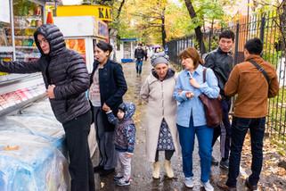 Almaty street scene