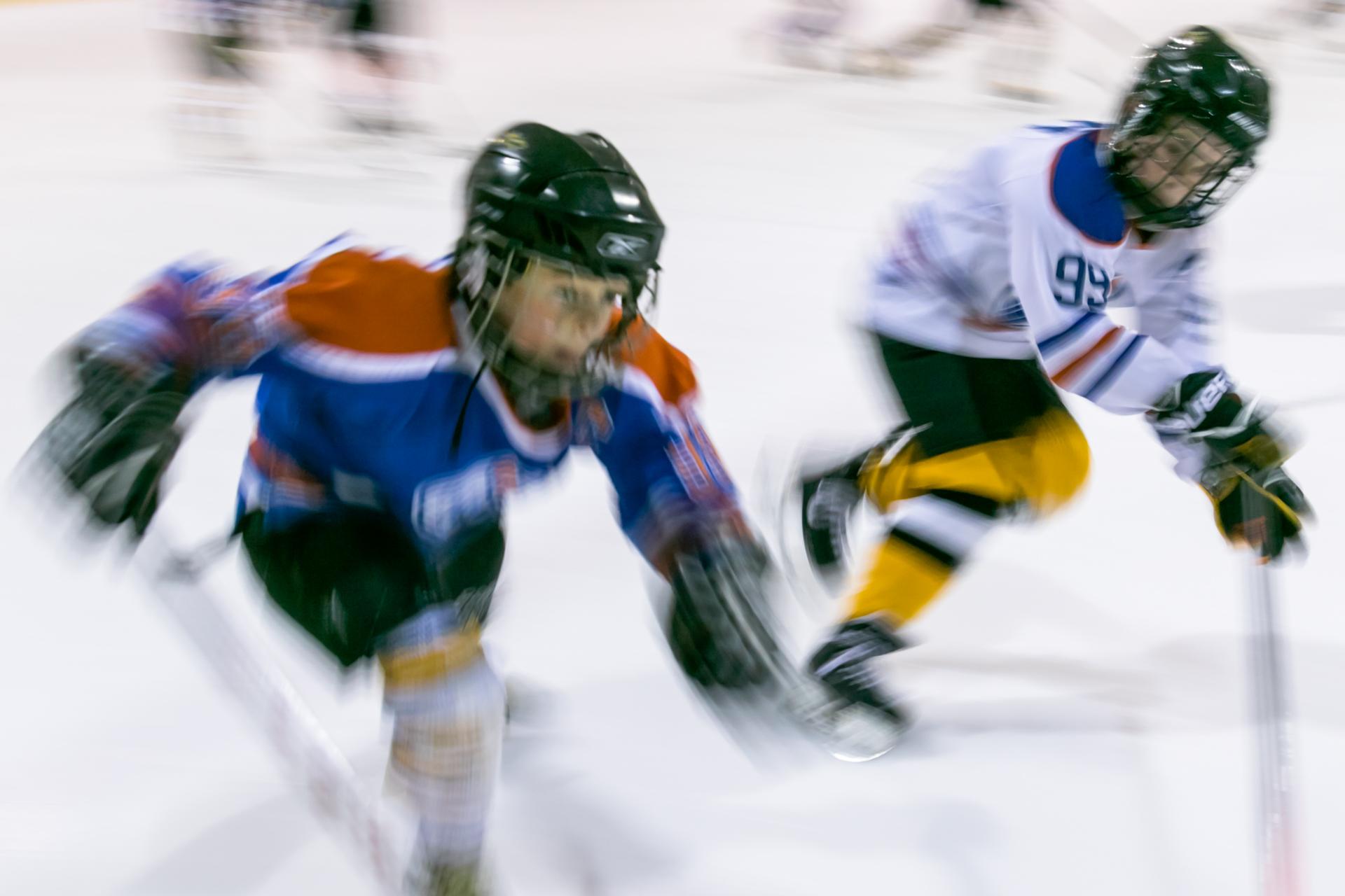 Skating hard