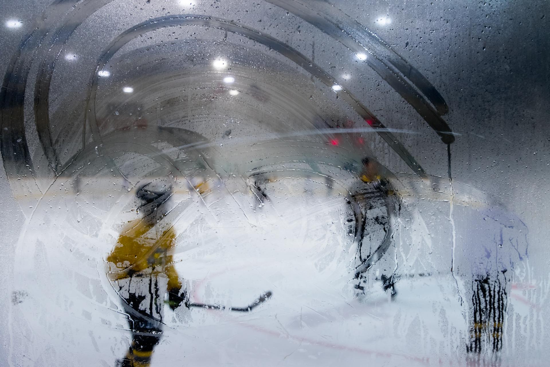 Foggy glass