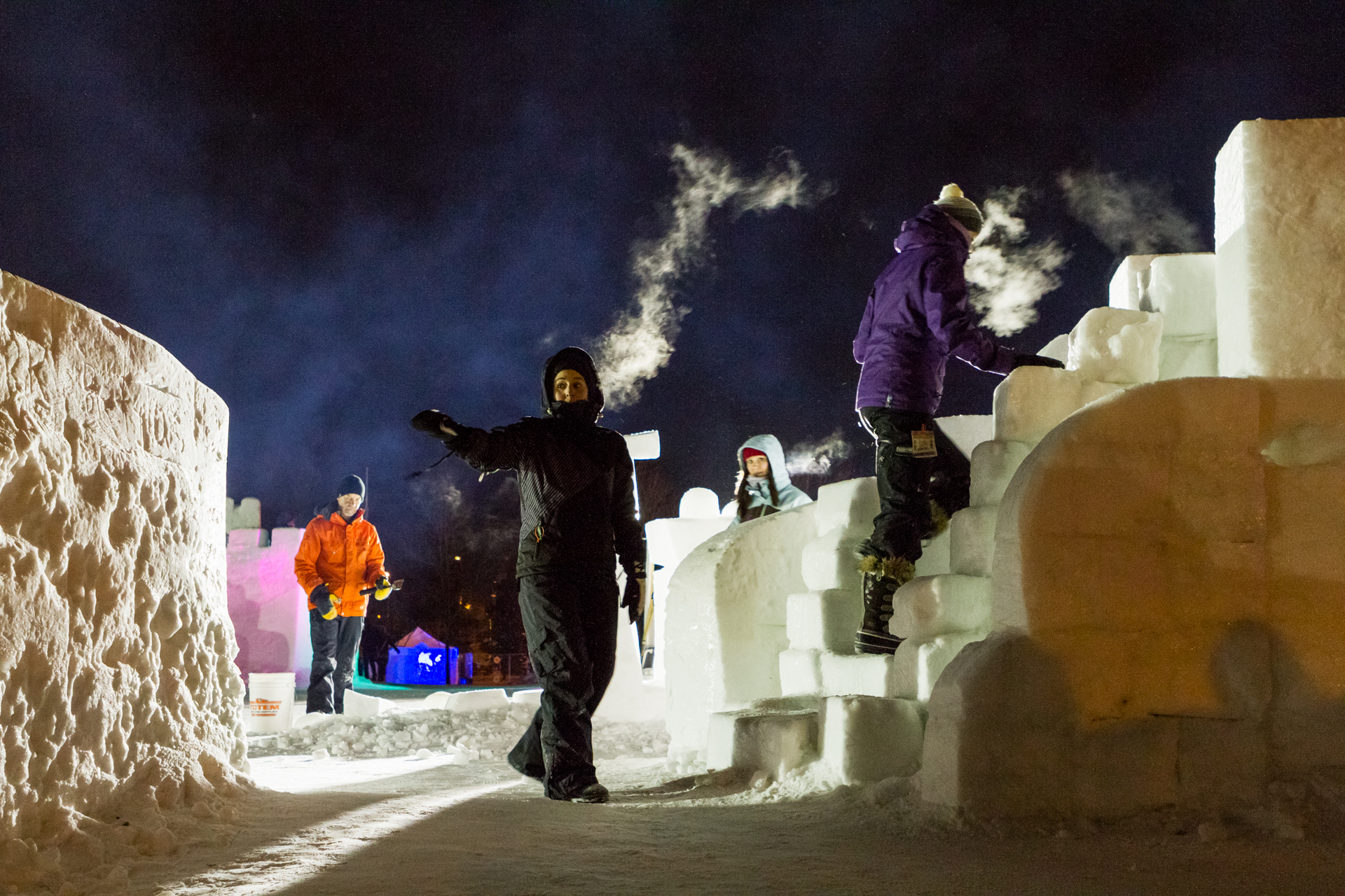 Evening at Ice on Whyte