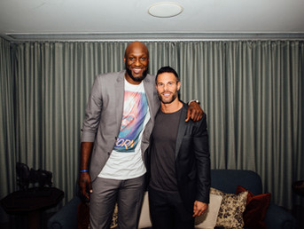 Psychedelics Expert Dustin Robinson Presented Monthly Psychedelic Panel with Lamar Odom & Zappy
