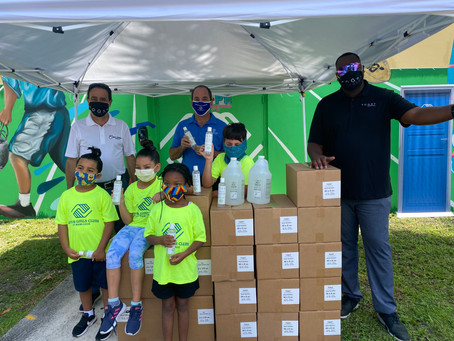Toast Distillers, Inc. Donated its EZ Hand Sanitizer to Boys & Girls Clubs of Miami-Dade