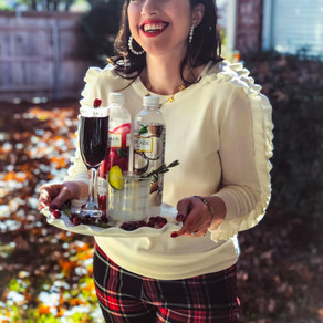 Holiday Drinks with Cascade Ice Sparkling Water