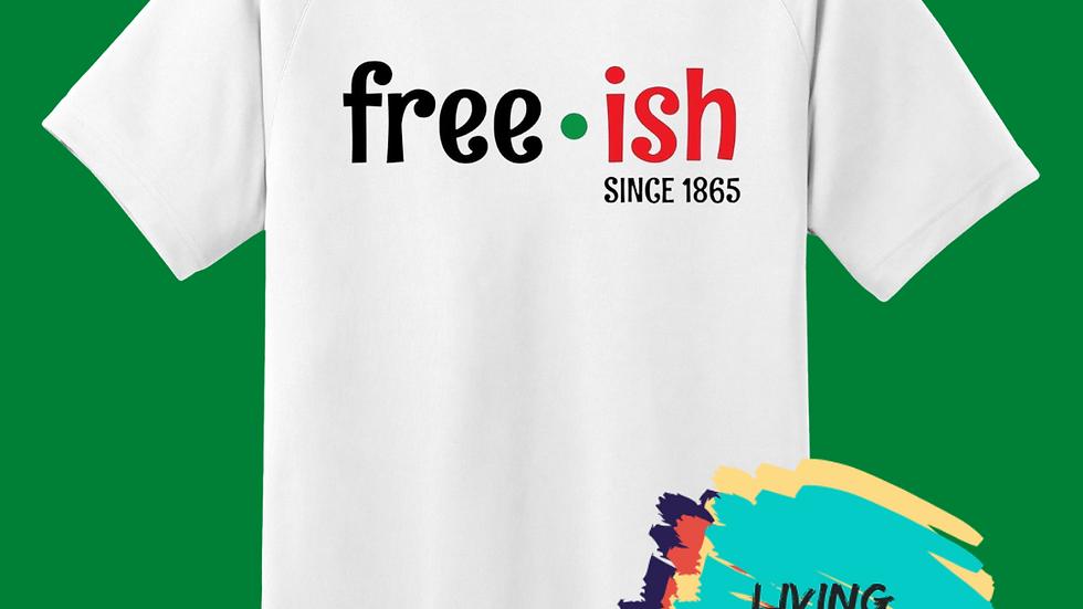 Free-ish Tshirt (Black, Green Red)