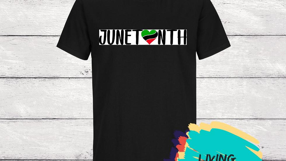 Heart of Juneteenth Tshirt