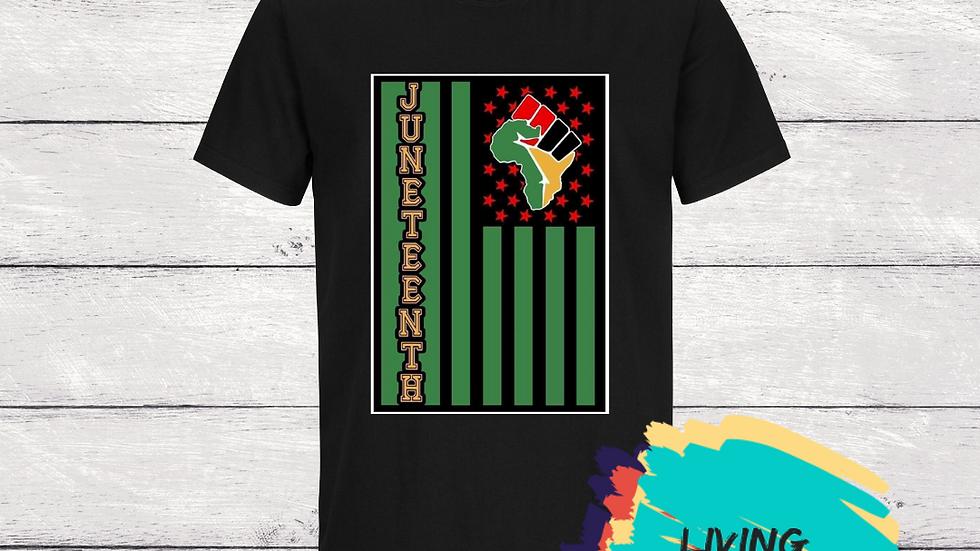 Juneteenth Flag Tshirt