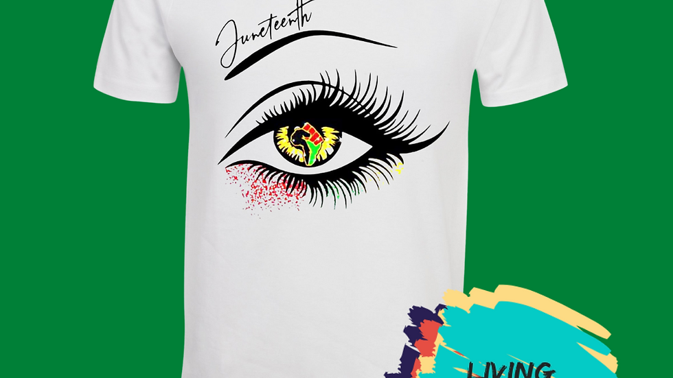 Eye On Juneteenth Tshirt (Option2)