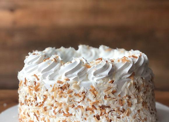 Coconut Cream Ice Cream Cake
