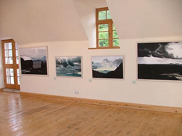 Michael Darling Exhibition. Glengorm Castle. Isle of Mull
