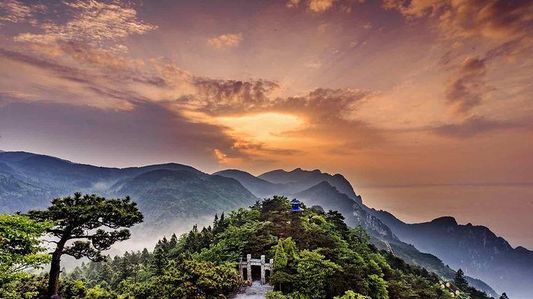 Hanpo Pass or Hanpo Kou of Mount Lu Facing the Poyang Lake