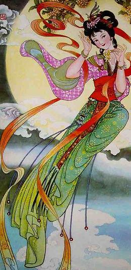 Chinese Flower Goddess of Osmanthus