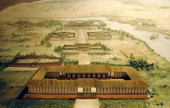 Restoration Map of Palace of the Shang Dynasty