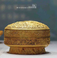 Unearthed Gold Box of the Tang Dynasty — Shanxi Museum