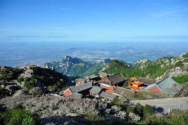 Bixia Temple on Mount Tai