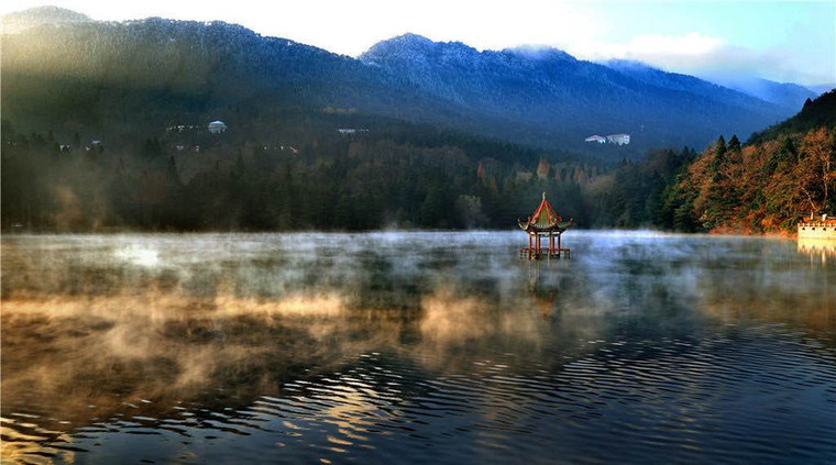 Lulin Lake of Mount Lu