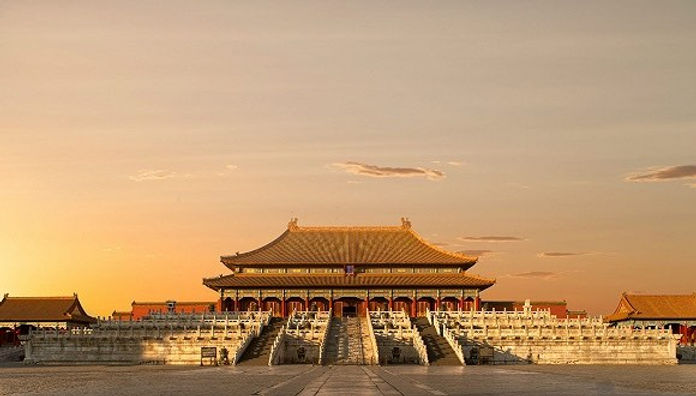 Central Building of the Royal Forbidden City Built in 1420