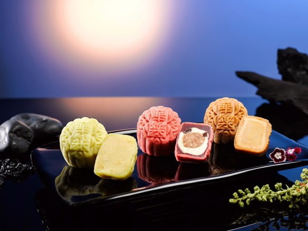 Mooncakes on Mid Autumn Festival the Zhongqiu