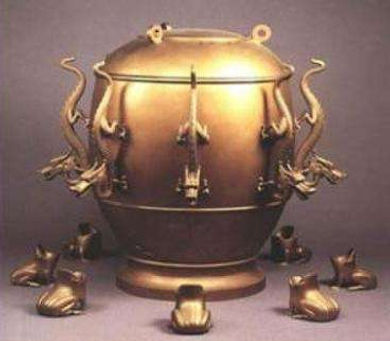 Houfeng Seismograph Invented by Zhang Heng of the Han Dynasty