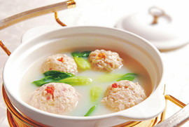 Stewed Crab and Pork Meatball