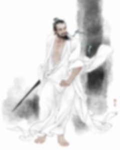 Great Poet and Swordsman Li Bai of Tang Dynasty in History of China