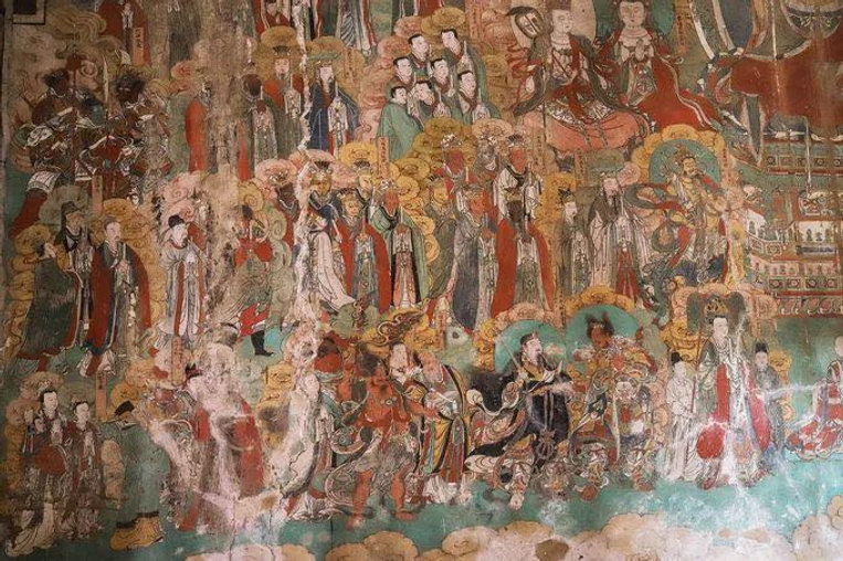 Ming Dynasty (1368 — 1644) Frescoes of Gongzhu Temple