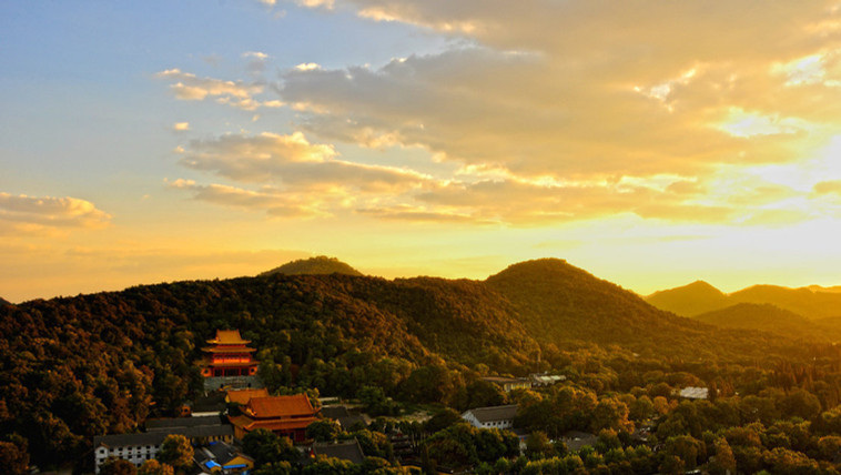 Jingci Temple on Nanping Mountain