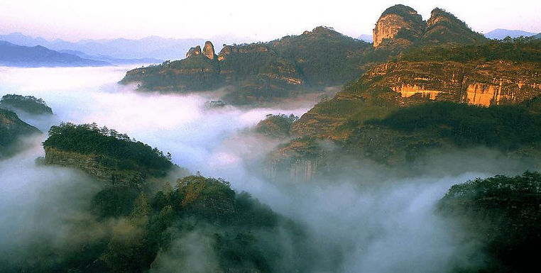 Peaks of Mount Wuyi