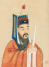 Portrait of Wang Yangming, Painted by Court Artist Jiao Bingzhen of the Early Qing Dynasty (1636 — 1912)