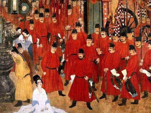 Mutiny Against the Yang Clan in Ma Wei Po in the Tang Dynasty