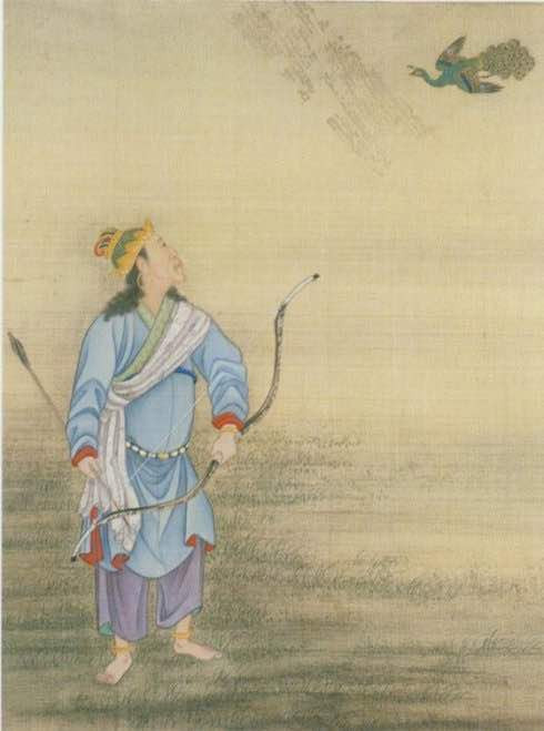 Yongzheng Emperor Cosplaying A Hunter.