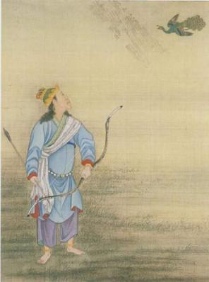 Yongzheng Emperor Cosplaying A Hunter.