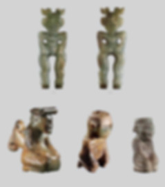 Unearthed Jade Figures of the Shang Dynasty