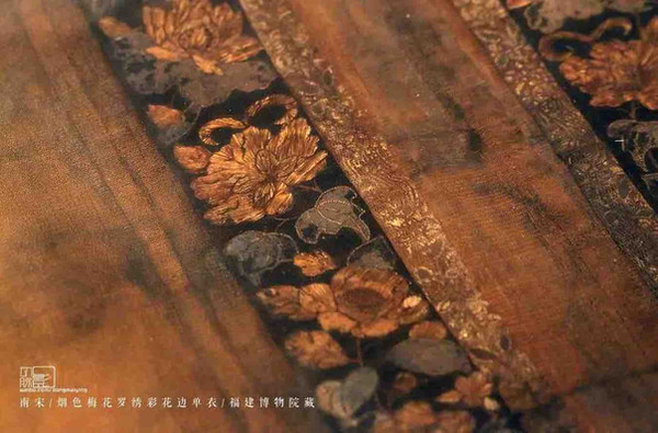 Part of Exquisite Embroidery Clothes of the Southern Song Dynasty