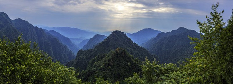 Mount Emei of Sichuan Province of China