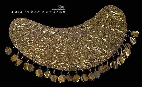 Exquisite Engravings on Gold Decoration of the Han Dynasty (202 BC — 220 AD)