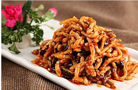 Spicy Fish Flavored Shredded Pork