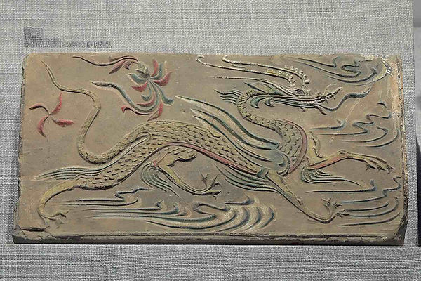 Azure Dragon Portrait Brick of the Southern Dynasties (420 — 589)