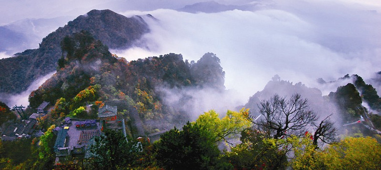Natural View and Ancient Building Complex of the Wudang Mountains